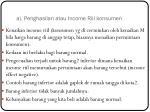 a penghasilan atau income riil konsumen