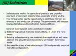 iii industries
