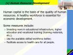 v human resource development