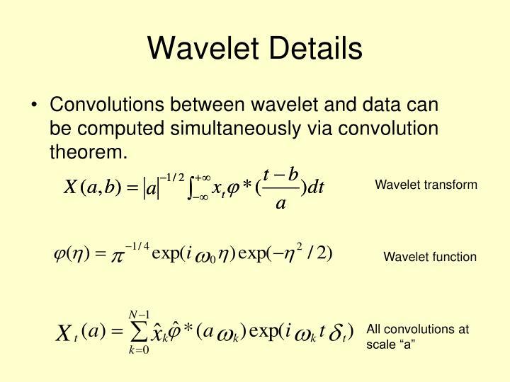 Wavelet Details