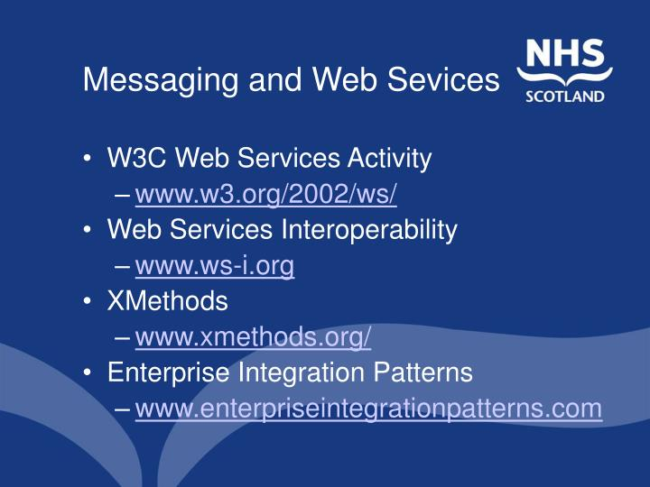 Messaging and Web Sevices