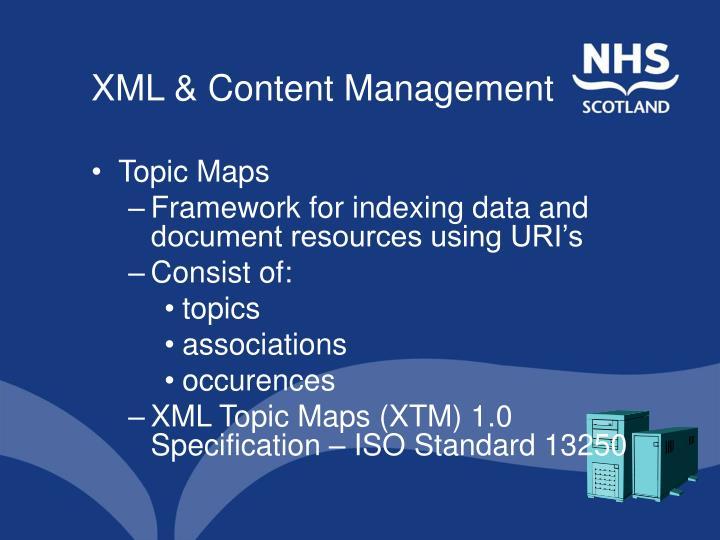 XML & Content Management