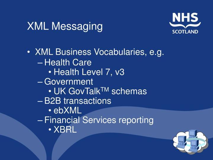 XML Messaging