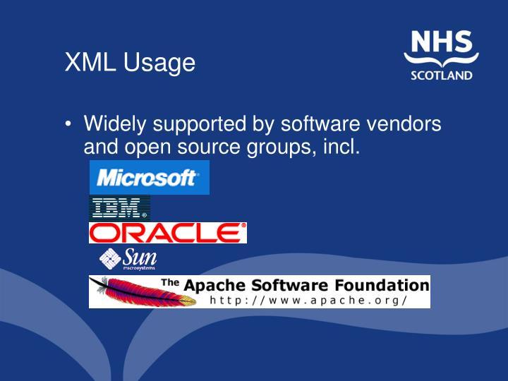 XML Usage