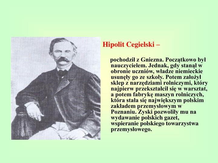 Hipolit Cegielski –