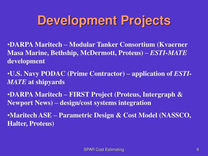 Development Projects