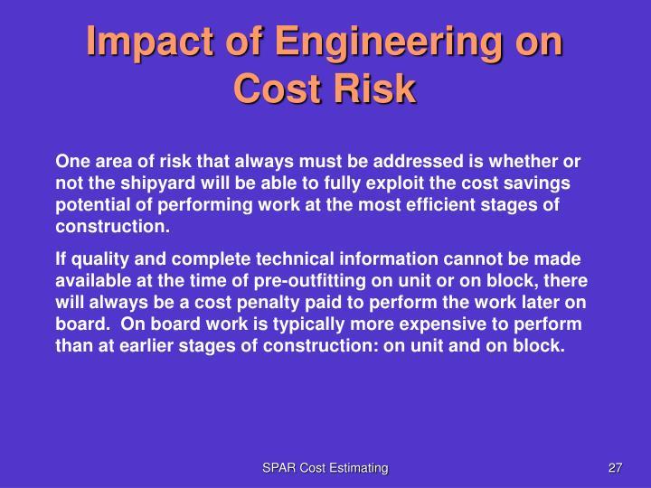 Impact of Engineering on