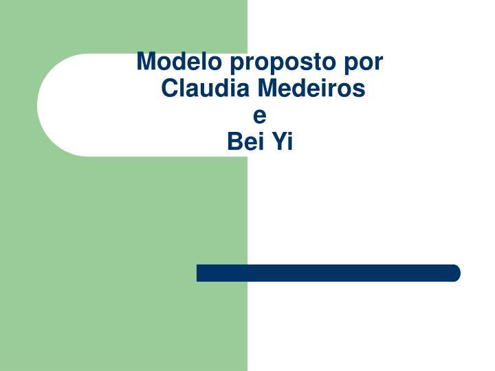 Modelo proposto por