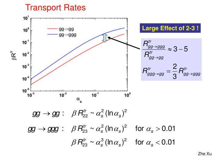 Transport Rates