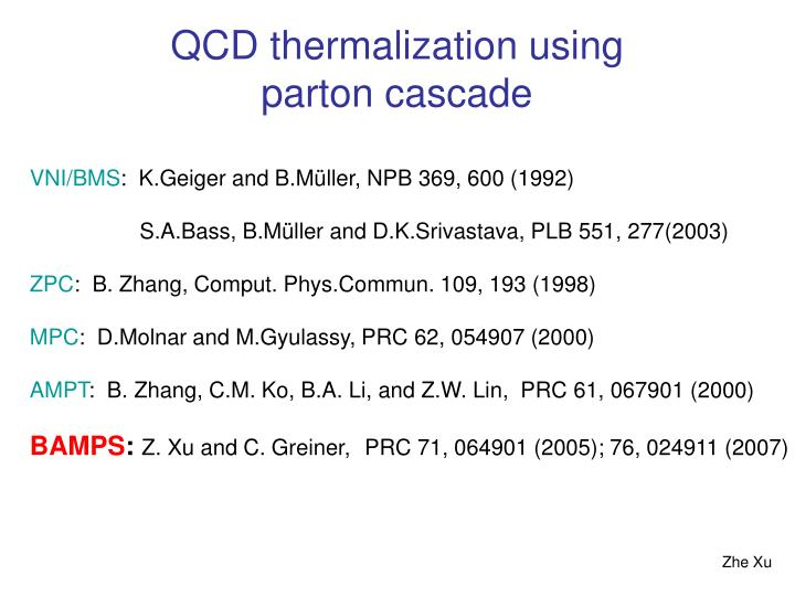 QCD thermalization using