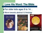 love his word the bible2