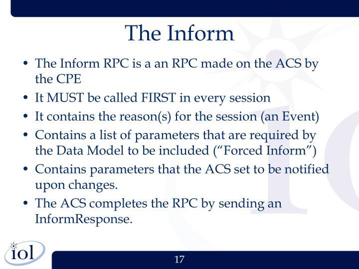The Inform