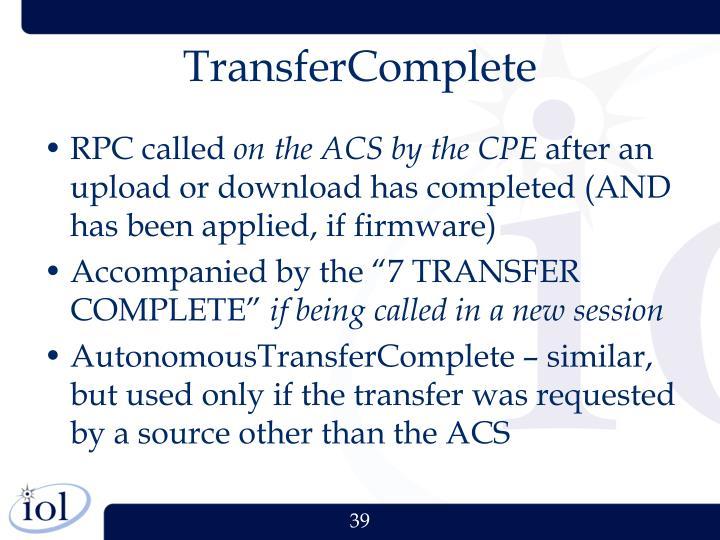 TransferComplete
