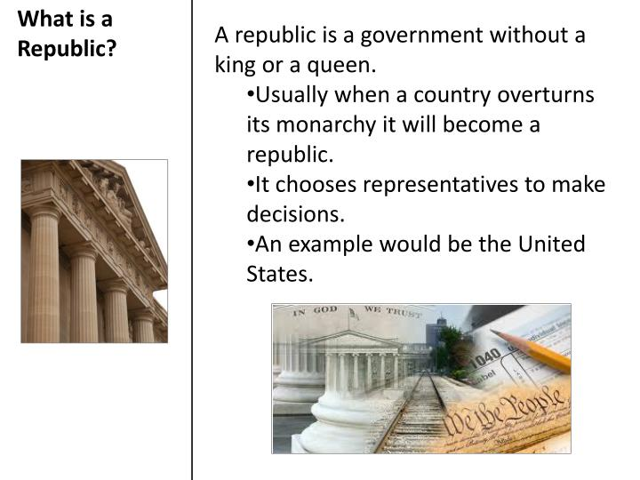 What is a Republic?