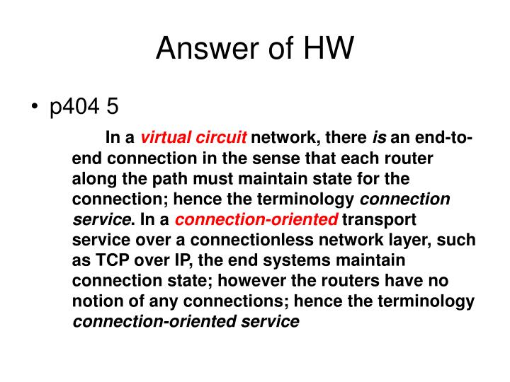 Answer of hw2