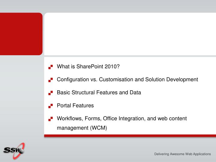 What is SharePoint 2010?