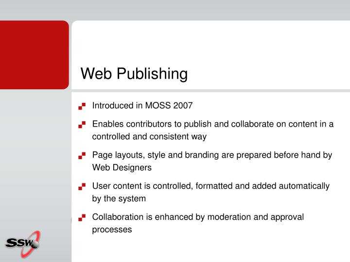 Web Publishing