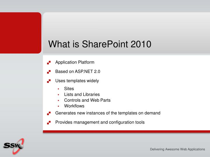 What is SharePoint 2010