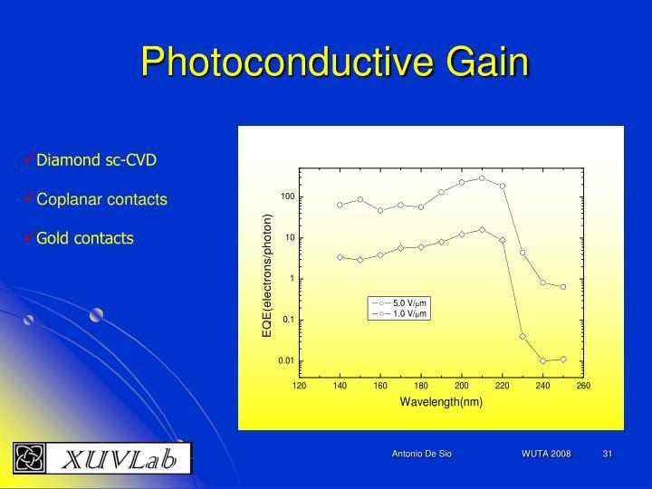 Photoconductive Gain