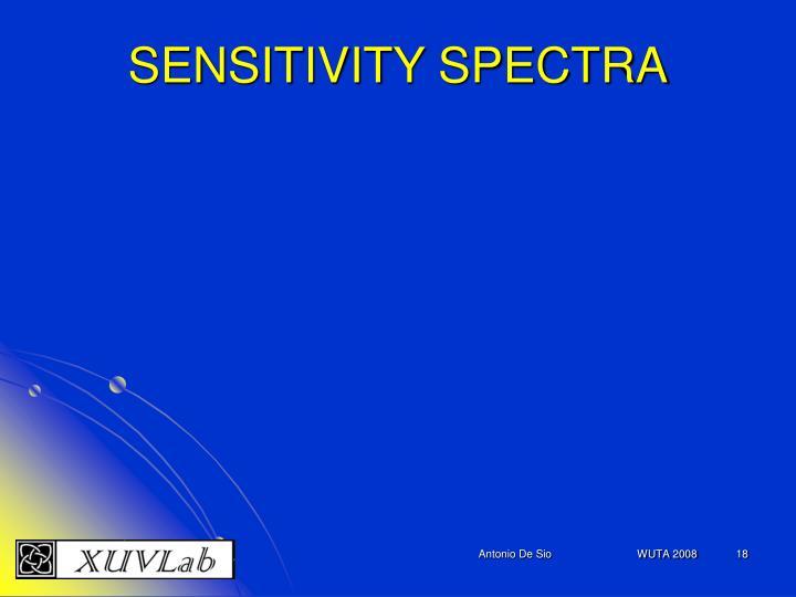 SENSITIVITY SPECTRA