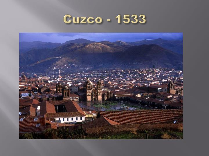 Cuzco - 1533
