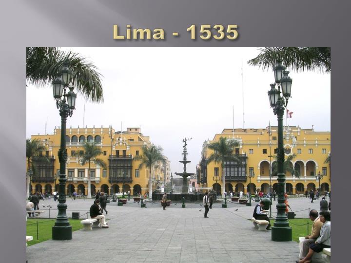 Lima - 1535