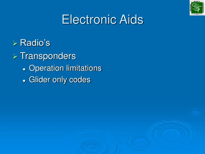 Electronic Aids