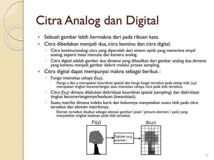 Citra Analog