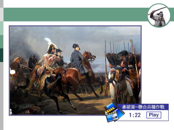 拿破崙─聯合兵種作戰