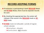 record keeping forms3