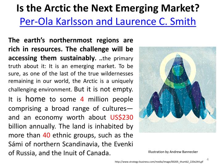 Is the Arctic the Next Emerging Market?