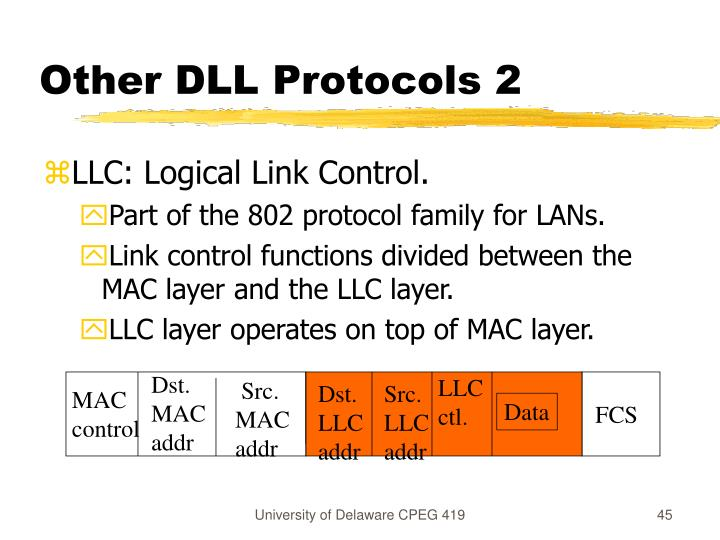 Other DLL Protocols 2