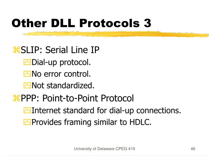Other DLL Protocols 3