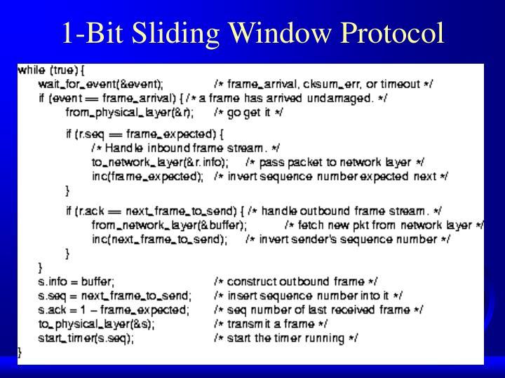 1-Bit Sliding Window Protocol