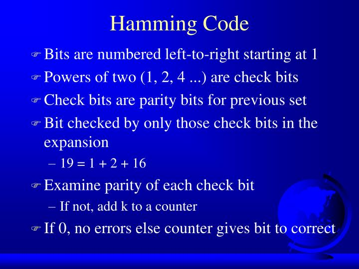 Bits are numbered left-to-right starting at 1