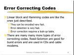 error correcting codes2