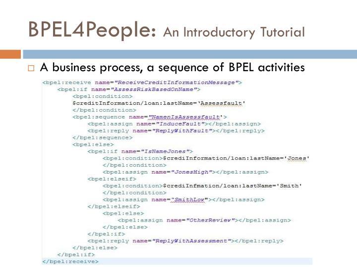 BPEL4People: