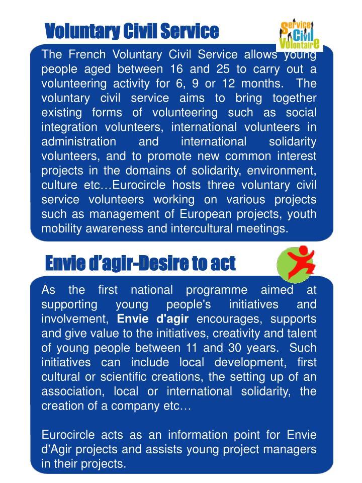 Voluntary Civil Service