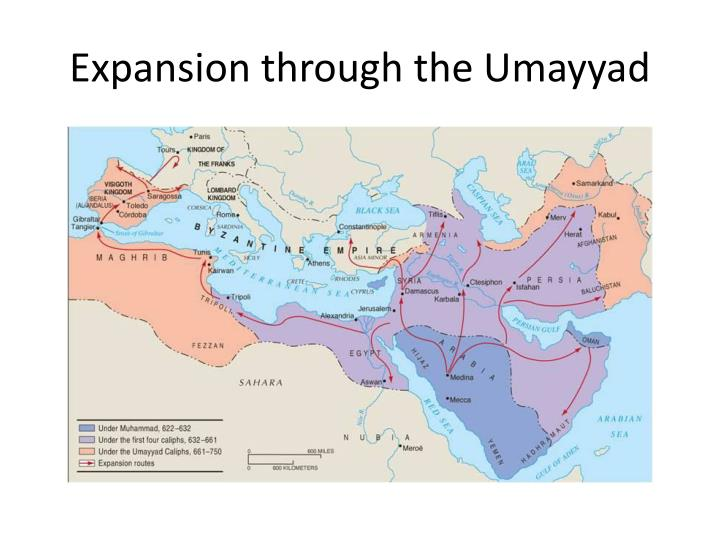 Expansion through the Umayyad