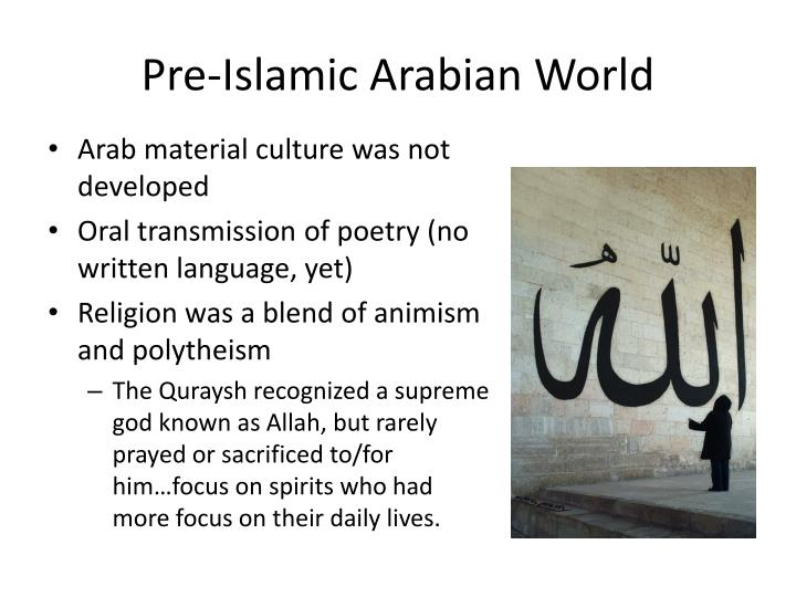 Pre-Islamic Arabian World