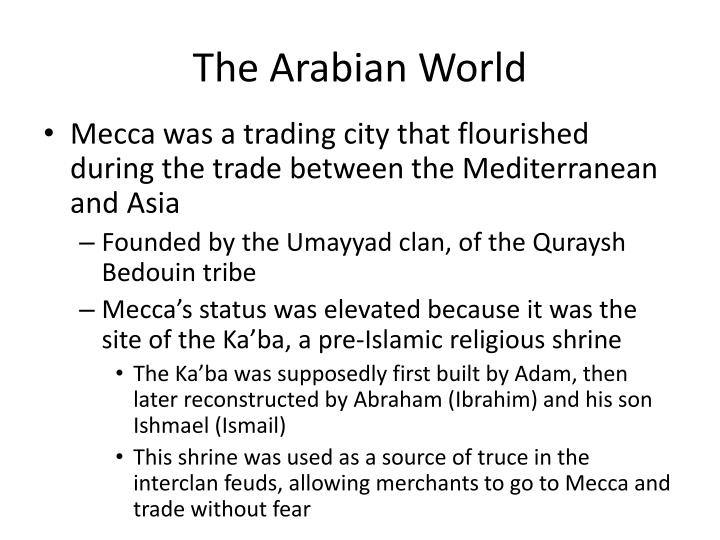 The Arabian World