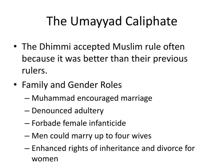 The Umayyad Caliphate