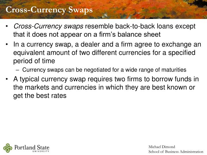 Cross-Currency Swaps