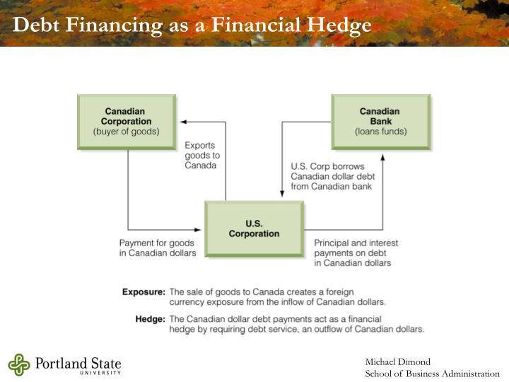 Debt Financing as a Financial Hedge