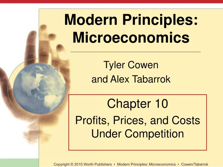 chapter 10 profits prices and costs under competition n.