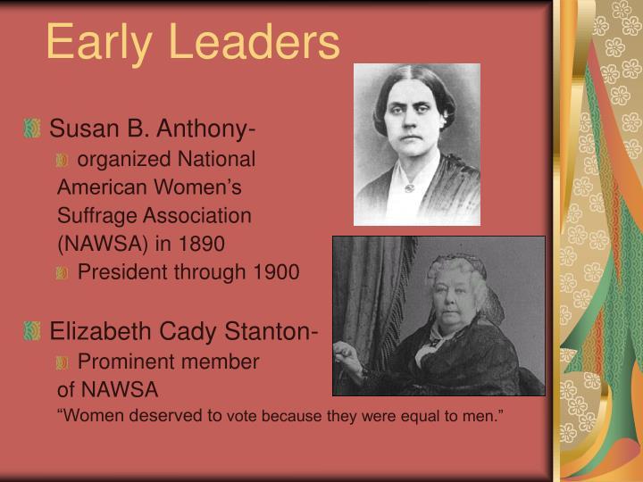 Early Leaders