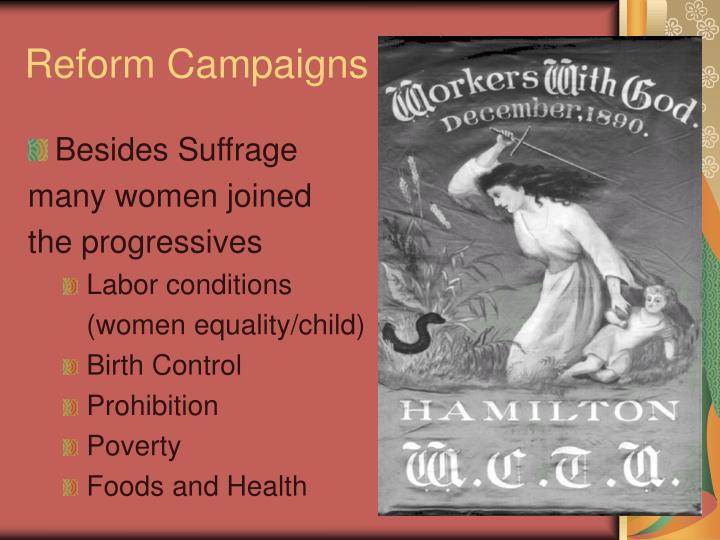 Reform Campaigns