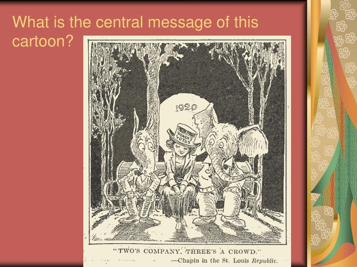 What is the central message of this cartoon?