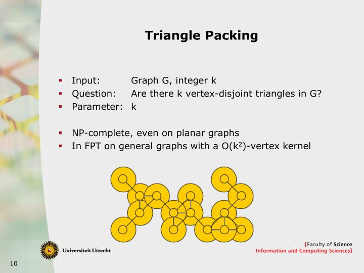 Triangle Packing