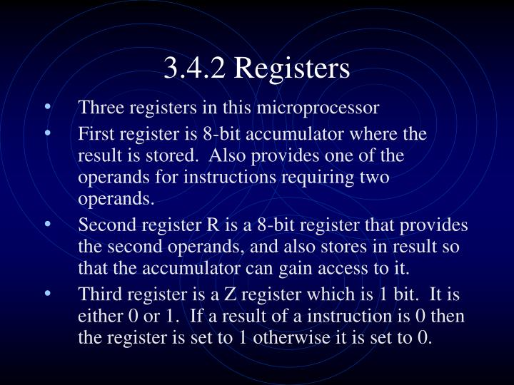 3.4.2 Registers